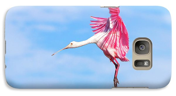 Spoonbill Ballet Galaxy Case by Mark Andrew Thomas