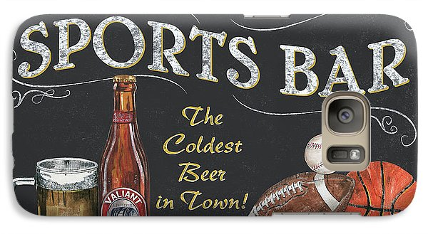Sports Bar Galaxy Case by Debbie DeWitt