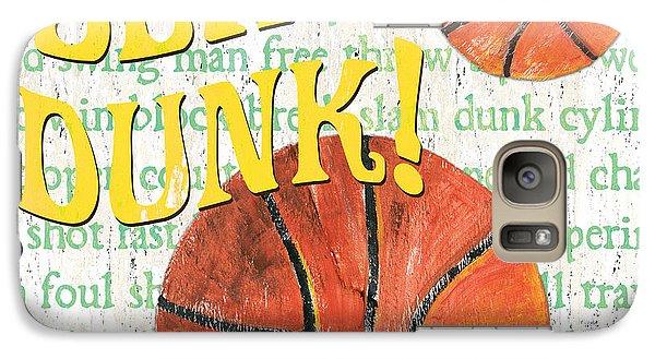 Sports Fan Basketball Galaxy Case by Debbie DeWitt