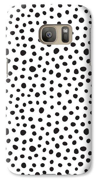 Spots Galaxy S7 Case by Rachel Follett