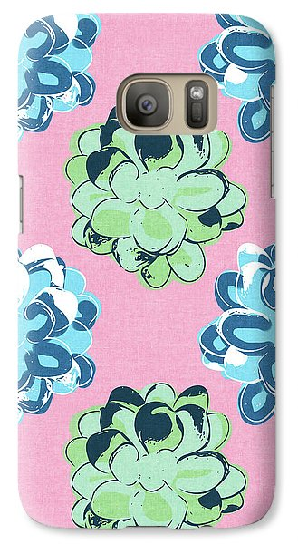Spring Succulents- Art By Linda Woods Galaxy Case by Linda Woods