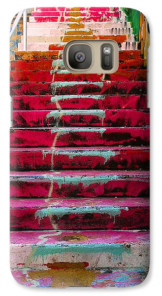 Stairs Galaxy S7 Case by Angela Wright