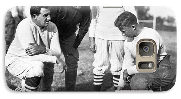 Stanford Coach Pop Warner Galaxy S7 Case by Underwood Archives