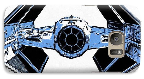 Star Wars Tie Fighter Advanced X1 Galaxy Case by Edward Fielding