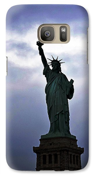 Statue Of Liberty May 2016 Galaxy Case by Sandy Taylor