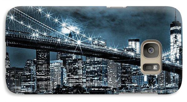 Steely Skyline Galaxy Case by Az Jackson