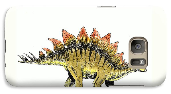Stegosaurus Galaxy S7 Case by Michael Vigliotti