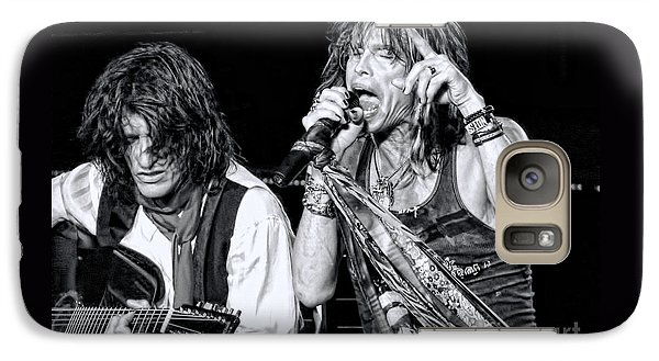 Steven Tyler Croons Galaxy S7 Case by Traci Cottingham