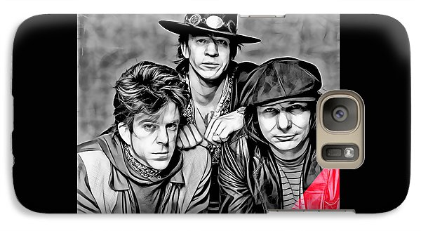Stevie Ray Vaughan And Double Trouble Collection Galaxy Case by Marvin Blaine