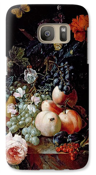 Still Life  Galaxy S7 Case by Johann Amandus Winck
