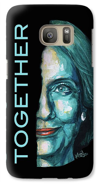 Stronger Together Galaxy Case by Konni Jensen