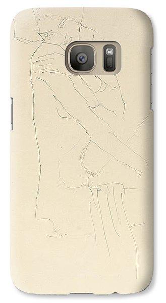 Study For Adele Bloch Bauer II Galaxy S7 Case by Gustav Klimt