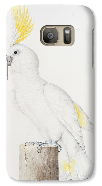 Sulphur Crested Cockatoo Galaxy Case by Nicolas Robert