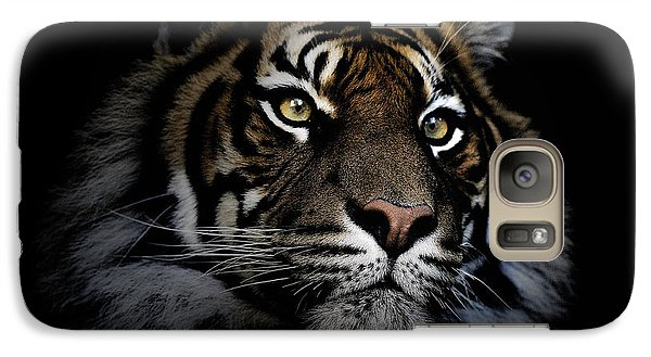 Sumatran Tiger Galaxy S7 Case by Avalon Fine Art Photography