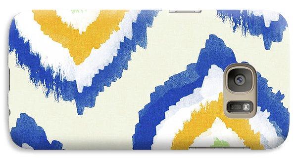 Summer Ikat- Art By Linda Woods Galaxy S7 Case by Linda Woods