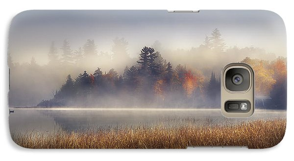 Sunrise In Lake Placid  Galaxy S7 Case by Magda  Bognar