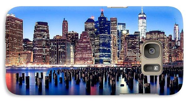 Magic Manhattan Galaxy S7 Case by Az Jackson
