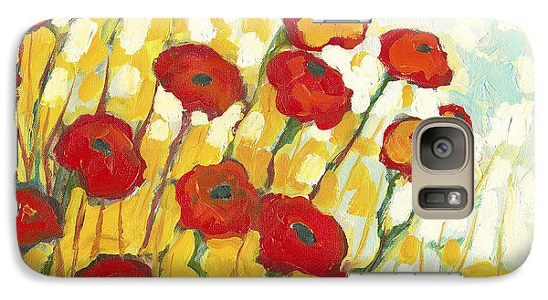 Surrounded In Gold Galaxy Case by Jennifer Lommers