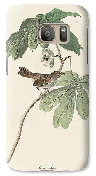Swamp Sparrow Galaxy S7 Case by John James Audubon