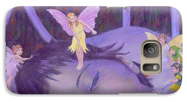 Sweet Dreams Galaxy Case by William Ireland