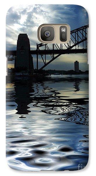 Sydney Harbour Bridge Reflection Galaxy S7 Case by Avalon Fine Art Photography