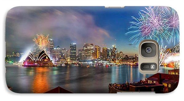 Sydney Sparkles Galaxy S7 Case by Az Jackson