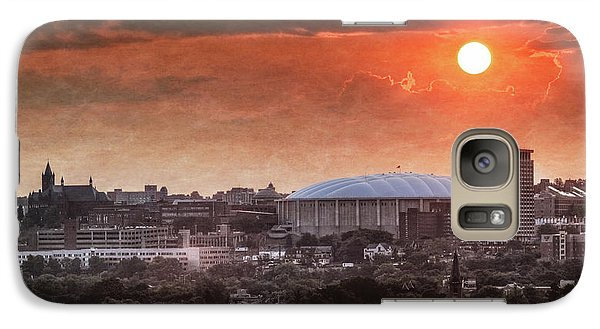 Syracuse Sunrise Over The Dome Galaxy S7 Case by Everet Regal