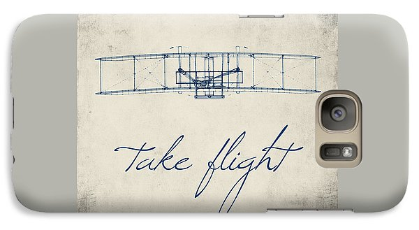 Take Flight Galaxy Case by Brandi Fitzgerald