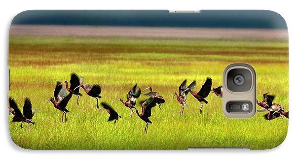 Take Off Galaxy S7 Case by Leland D Howard