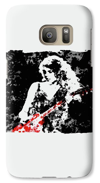 Taylor Swift 90c Galaxy S7 Case by Brian Reaves