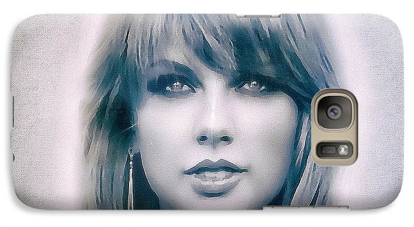 Taylor Swift - Beautiful Galaxy S7 Case by Robert Radmore