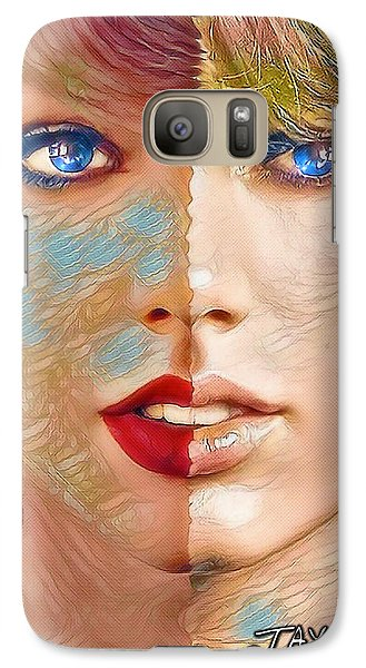 Taylor Swift - Blended Perfection Galaxy S7 Case by Robert Radmore