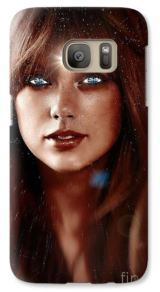 Taylor Swift - Goddess Galaxy S7 Case by Robert Radmore