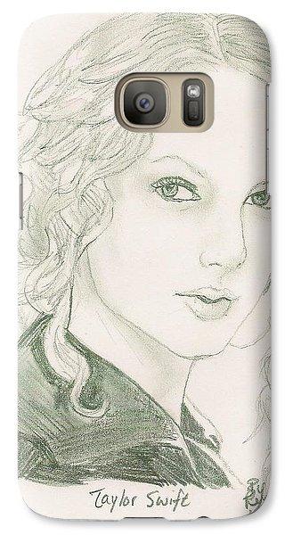 Taylor Swift Galaxy Case by Renee Kilburn