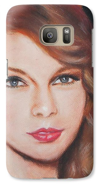 Taylor Swift  Galaxy S7 Case by Ronnie Melvin