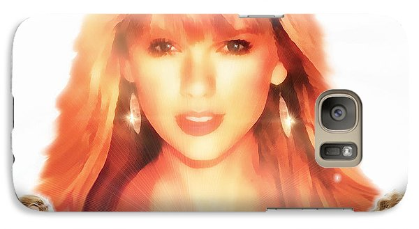 Taylor Swift - Stunning Galaxy S7 Case by Robert Radmore
