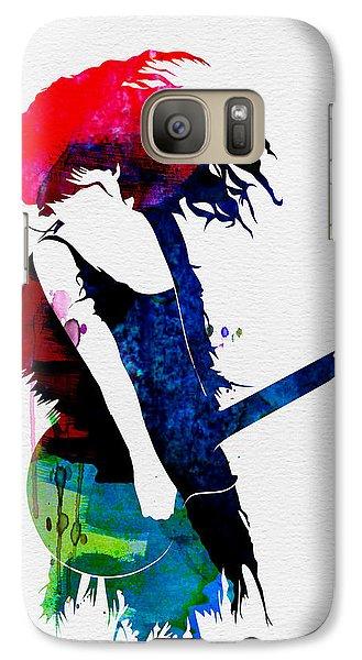 Taylor Watercolor Galaxy Case by Naxart Studio