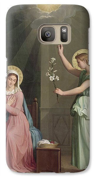 The Annunciation Galaxy S7 Case by Auguste Pichon