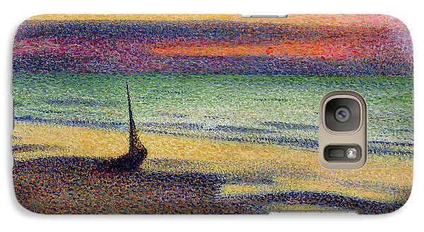 The Beach At Heist Galaxy S7 Case by Georges Lemmen