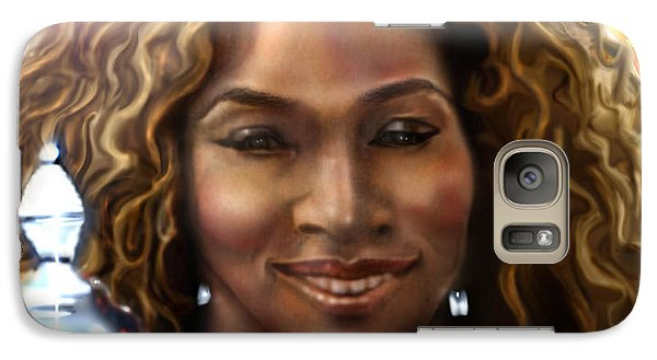 The Beauty Victory That Is Serena Galaxy S7 Case by Reggie Duffie