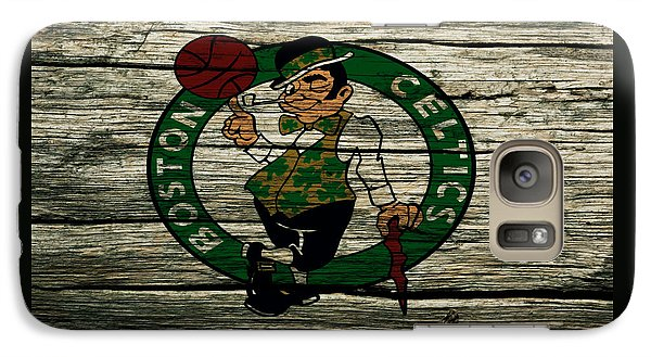 The Boston Celtics 2w Galaxy S7 Case by Brian Reaves