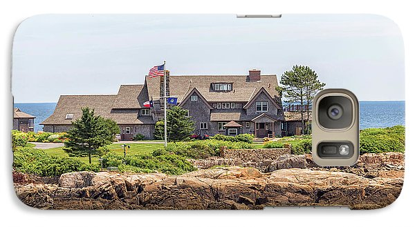 The Bush Family Compound On Walkers Point Galaxy S7 Case by Brian MacLean