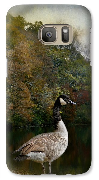 The Canadian Goose Galaxy Case by Jai Johnson