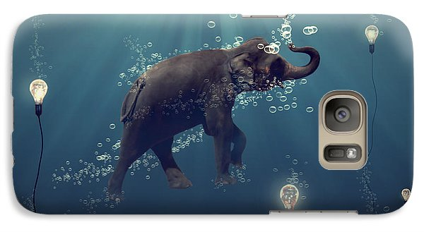 The Dreamer Galaxy Case by Martine Roch