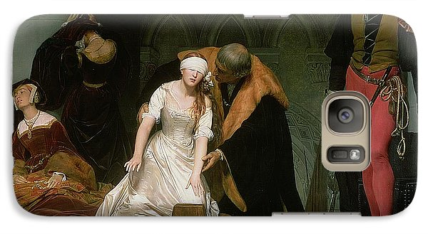 The Execution Of Lady Jane Grey Galaxy Case by Hippolyte Delaroche