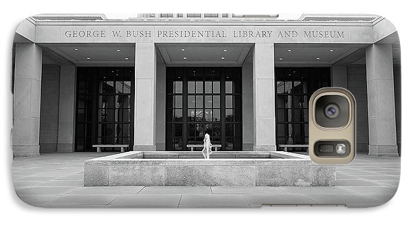 The George W. Bush Presidential Library And Museum  Galaxy S7 Case by Robert Bellomy