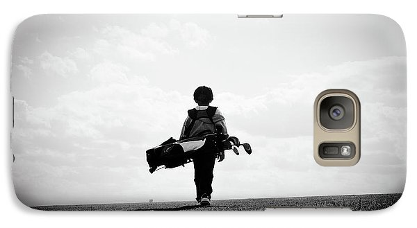 The Golfer Galaxy S7 Case by Shawn Wood