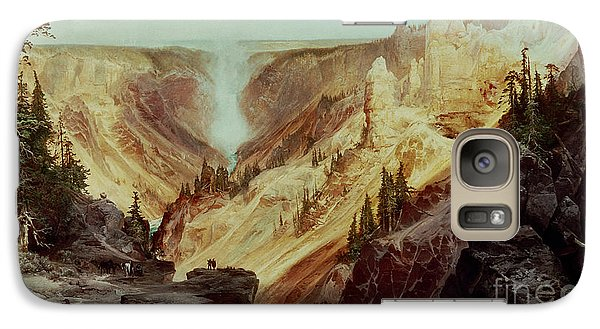 The Grand Canyon Of The Yellowstone Galaxy Case by Thomas Moran