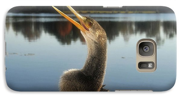 The Great Golden Crested Anhinga Galaxy S7 Case by David Lee Thompson