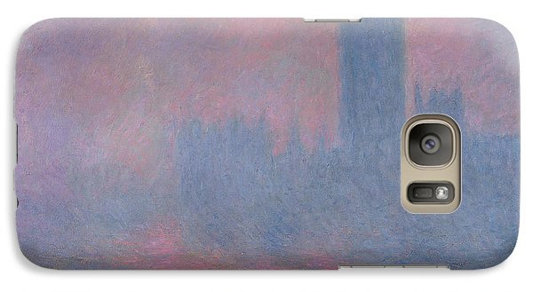 The Houses Of Parliament London Galaxy S7 Case by Claude Monet
